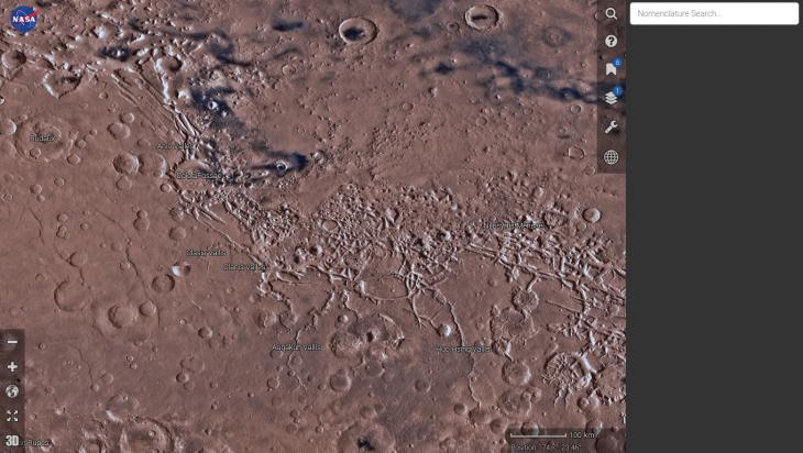 Mars Trek | NASA