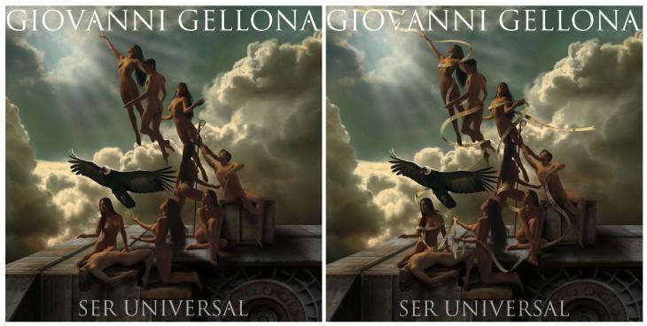 Portada Original y censurada | Giovanni Gellona