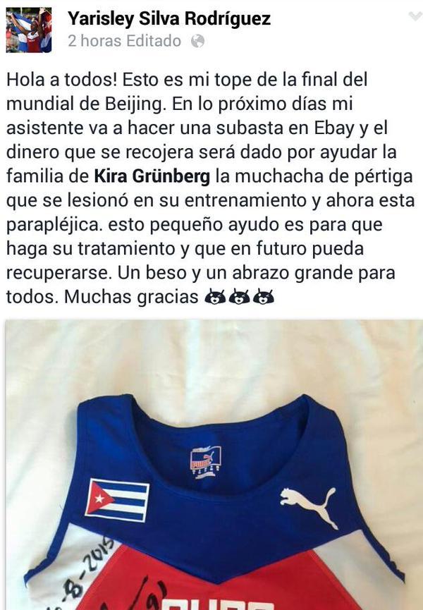 Yarisley Silva Rodriguez | Facebook