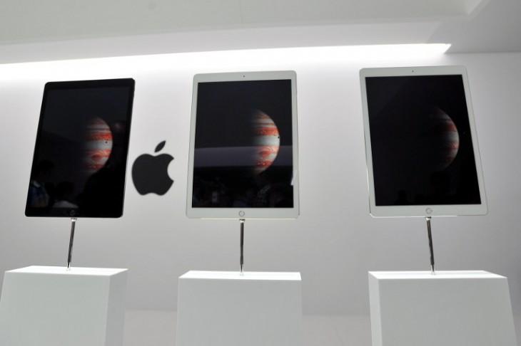 Modelos del iPad Pro | AFP