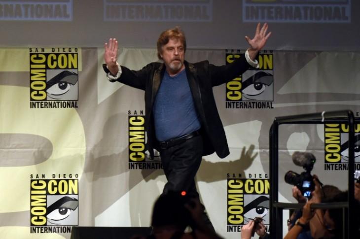 Mark Hamill en la pasada Comic-Con de San Diego   AFP