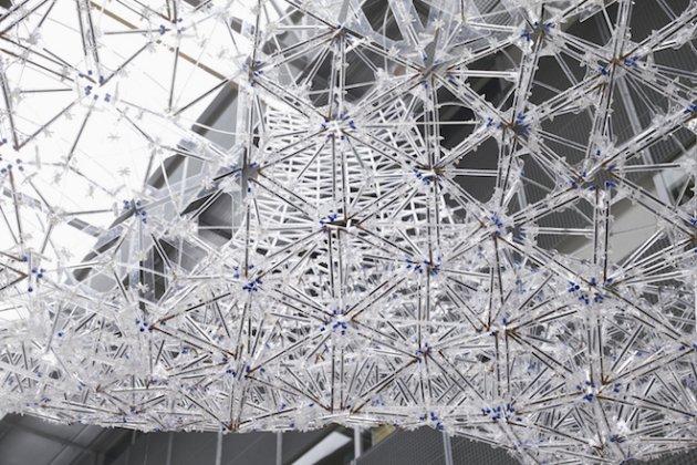 Escultura de BIC Cristal