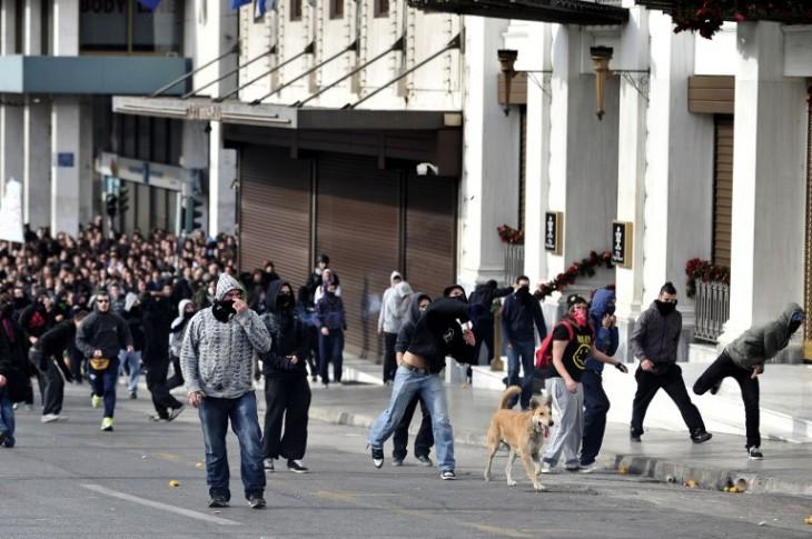 Loukanikos en Grecia | Aris Messinis | Agencia AFP