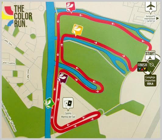 Mapa corrida Talcahuano