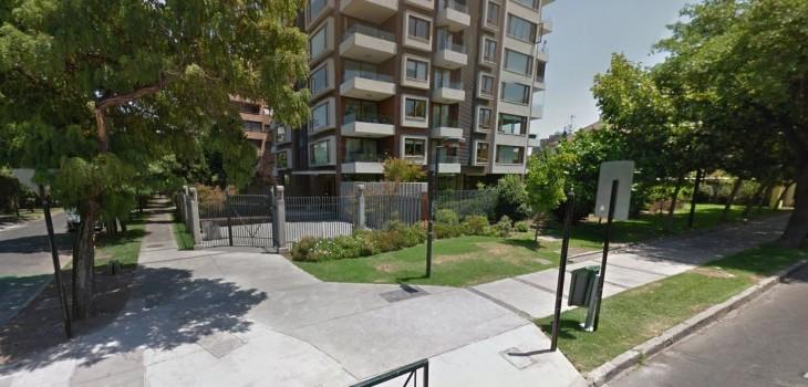En este lugar instalarían el memorial en Providencia | Google Street View