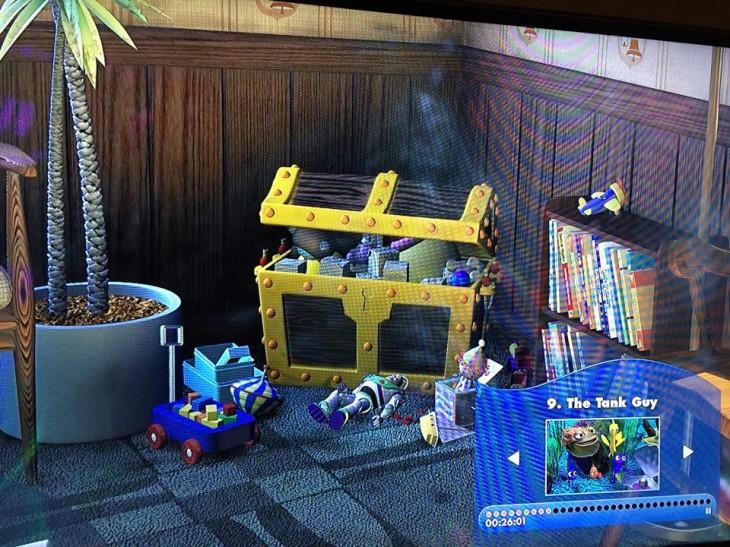 Buzz Lightyear en Buscando a Nemo | Pixar