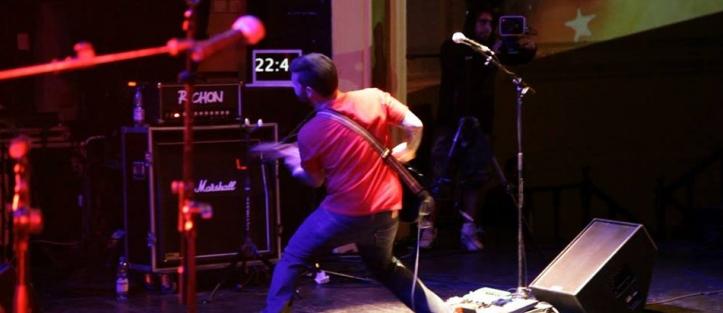 Banda Molo | Amplificador Richón en acción