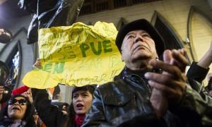 Manifestación contra Barros | David Cortés Serey | Agencia UNO