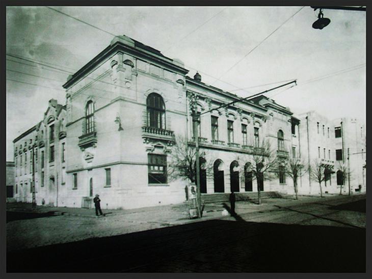 Teatro Concepción (actualmente Mall del Centro) en 1885