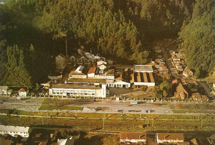 Planta CCU de Pedro de Valdivia, antes de ser vendida y abandonada a su suerte