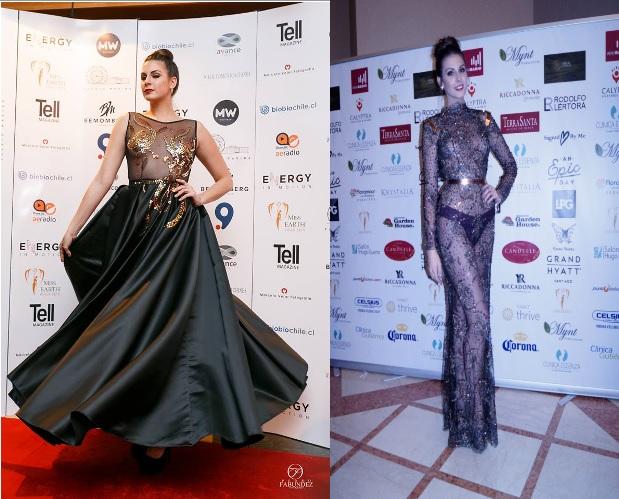 Miss Earth 2015 por Pedro Fabundez (c) | Miss Earth 2014 (derecha)