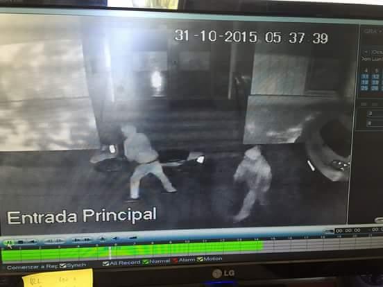 Captura de imagen de cámara de seguridad | Carlos López (RBB)