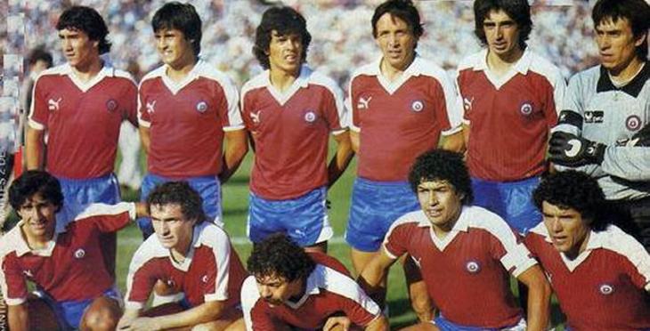 Chile vence 4-2 a Perú en las eliminatorias para México 86 en el Estadio Nacional