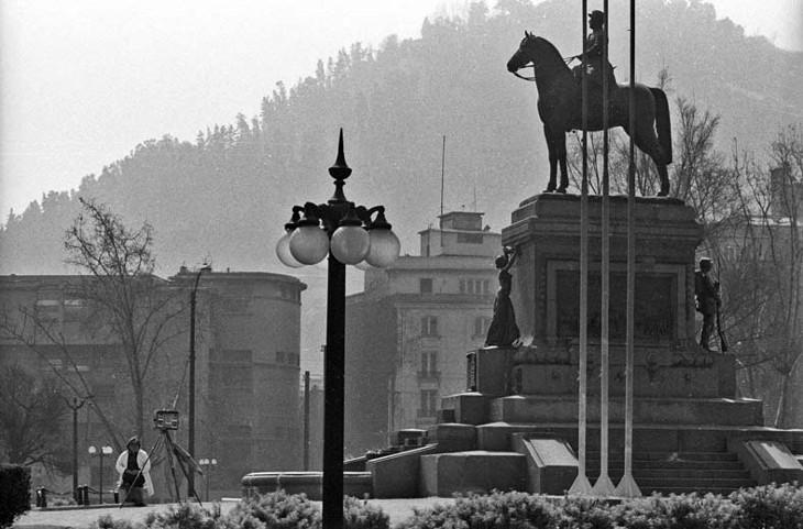 Plaza Italia en 1985 | Luis Weinstein