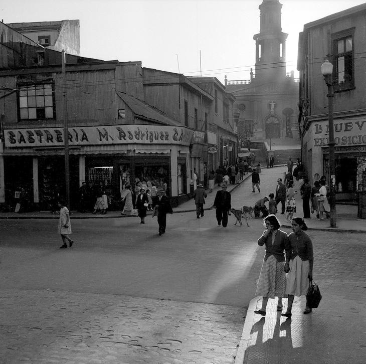 Barrio La Matriz en 1955 | Fundación Mapfre