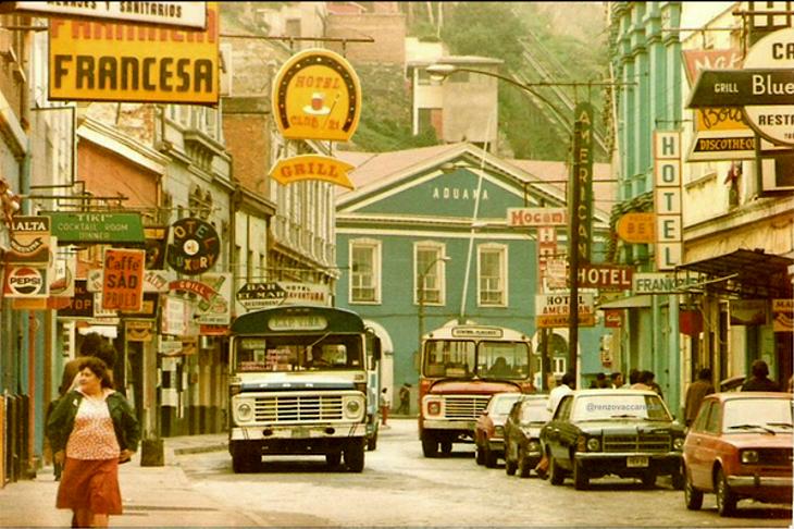 Calle Cochrane en el Barrio Puerto | Renzo Vaccarezza