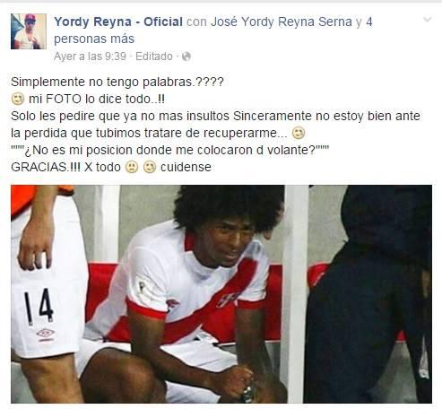 Captura Yordi Reyna Oficial | Facebook