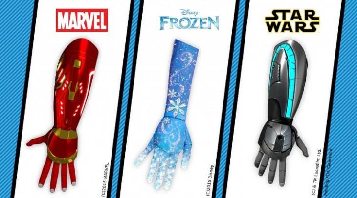 Open Bionics y su línea Disney