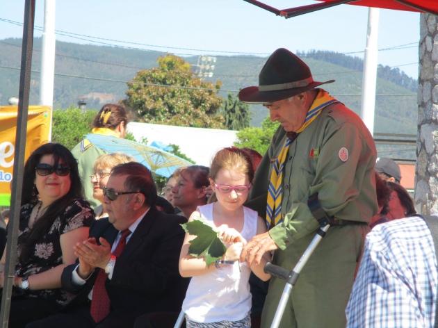 Rinden homenaje a fundador de scouts más longevo de Chiguayante | Javiera Mardones