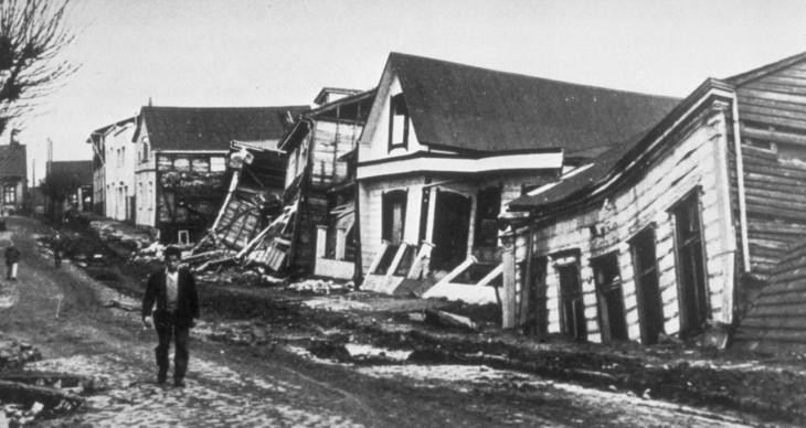 El terremoto de 1960 desplomó casas y edificios y dejó más de 2000 muertos. | Wikimedia
