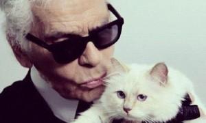 Karl Lagerfeld y Choupette