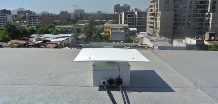 Smartphone instalado en Santiago. | CSN