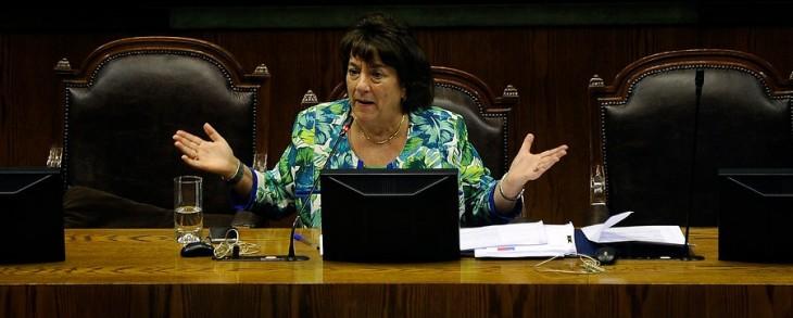 Ministra Delpiano en el Congreso | Agencia UNO