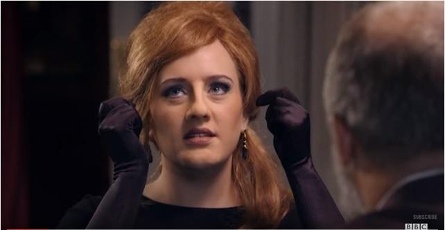 Adele disfrazada | BBC