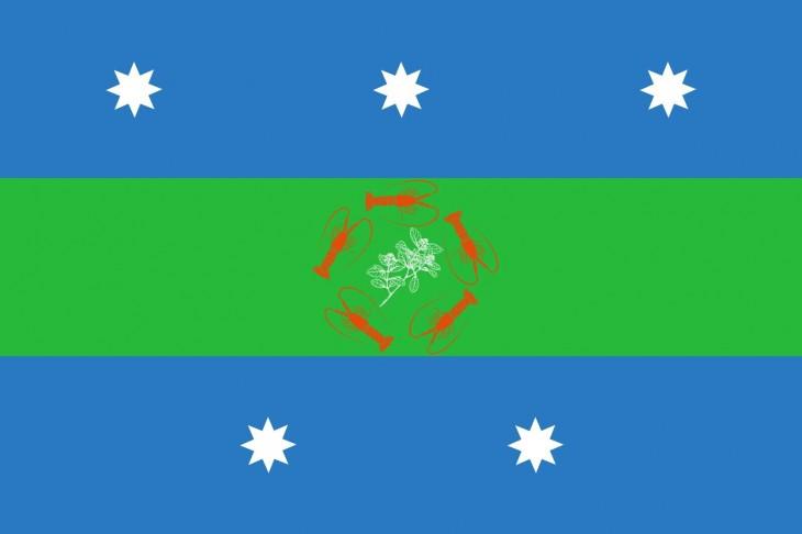 Bandera de Juan Fernández