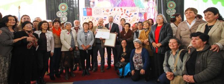 Artesanas de Rari reciben reconocimiento | Sergio Moya | Consejo Nacional de la Cultura