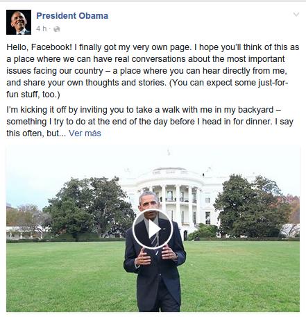 President Obama | Facebook