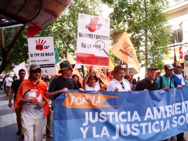 Marcha contra el Cambio Climático | María Elena Rozas