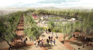 Proyecto Parque Urbano Estero Quilque | Municipalidad de Los Ángeles