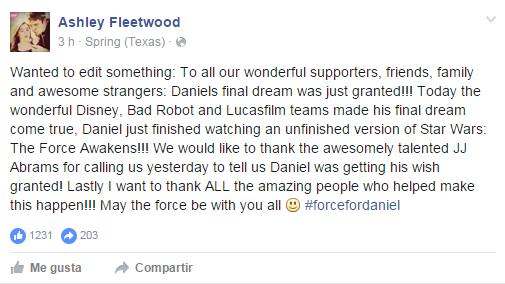 Ashley Fleetwood | Facebook