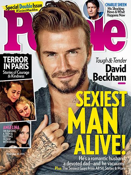 Portada Beckham en People