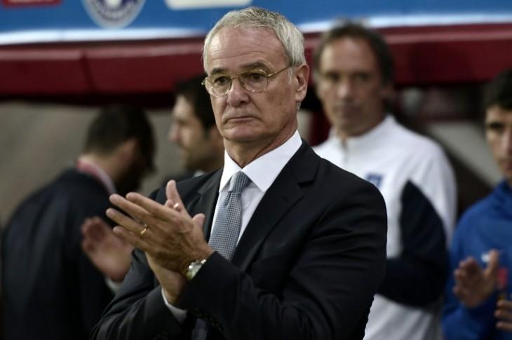 Claudio Ranieri, DT de Leicester | Archivo | AFP
