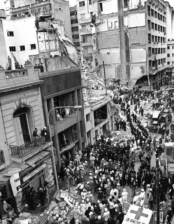 Atentado a la AMIA (1994) | Ali Bufari | AFP