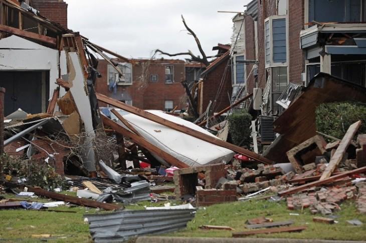 Daños tras una serie de tornados en Texas | AFP