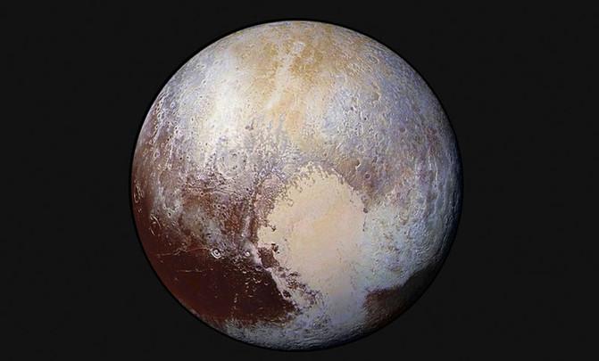 Imagen de Plutón captada por la sonda New Horizons. / NASA