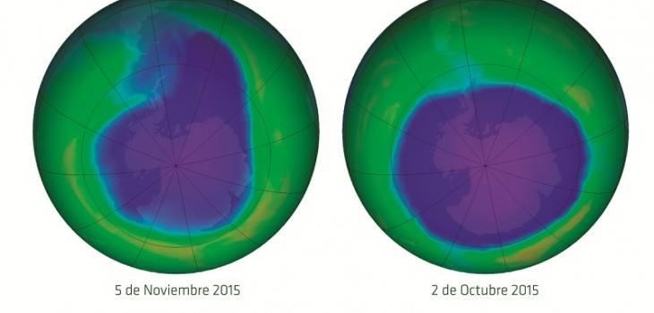 Agujero capa de ozono | Conac
