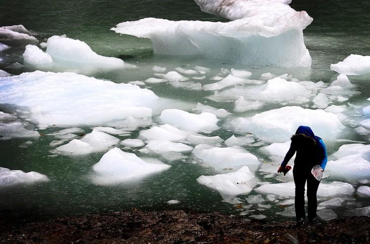 Glaciar Serrano, en la Región de Magallanes / Archivo | Francisco Negroni | Agencia Uno