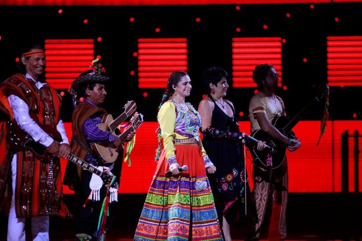 Representante de Bolivia en Viña, Rossana Marin | Agencia UNO