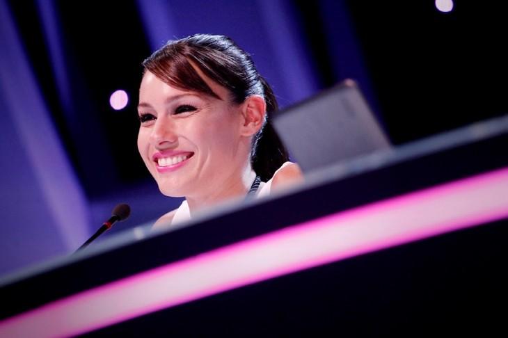 Carolina Ardohaín, durante el segundo capitulo de 'Baila! Al ritmo de un sueño' de CHV | Agencia UNO