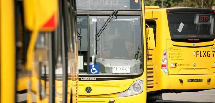 Buses operados por la empresa STP | Agencia Uno