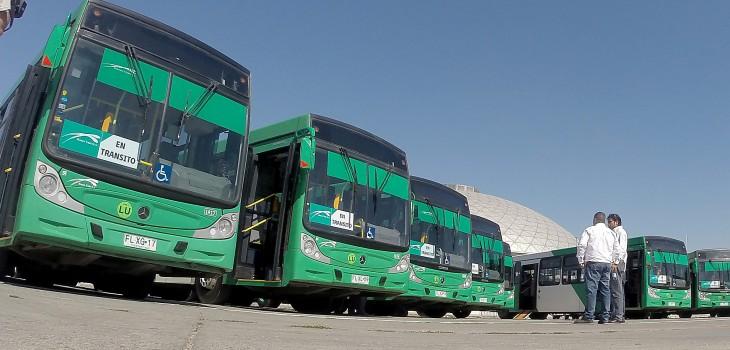 Buses operador por la empresa Vule | Agencia Uno