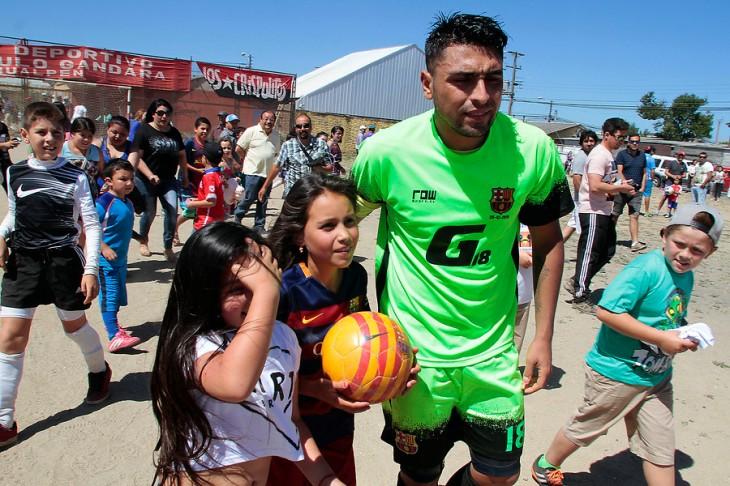 Gonzalo Jara en Hualpén