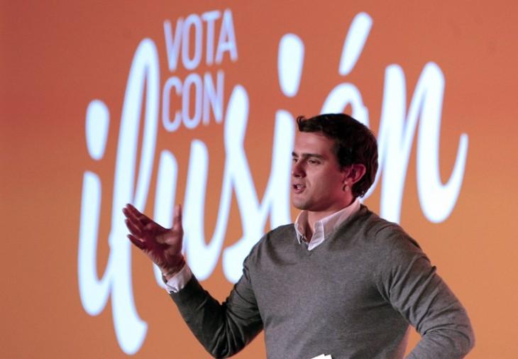 Albert Rivera | Candidato Ciudadanos | Agencia AFP