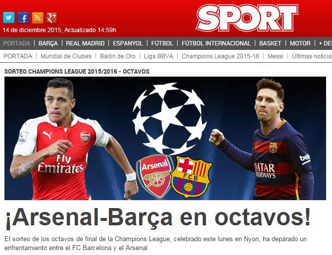 Alexis en Diario Sport