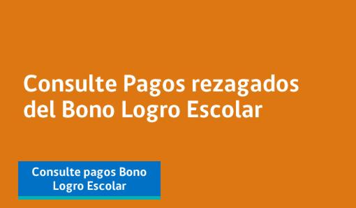 Bono Logro Escolar 2013 y 2014