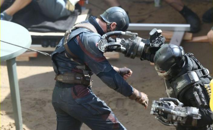 Capitán America y Crossbone, imagen filtrada meses antes por JustShared.com